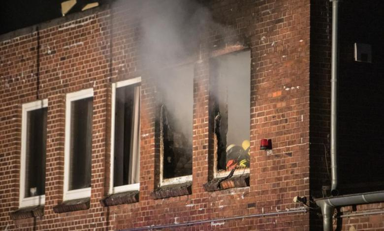 Bild von Feuer im Wohn- und Geschäftshaus