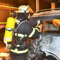 Polizei ermittelt nach Brandstiftung in Hausbruch