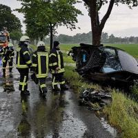 19-jähriger Autofahrer bei Unfall zwischen Ahrensmoor und Ahlerstedt verletzt