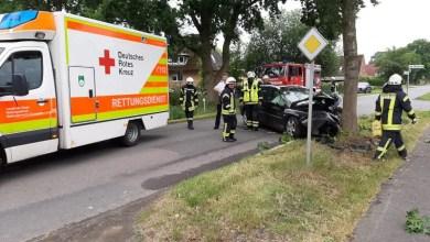 Photo of 24-jähriger Autofahrer bei Unfall in Kutenholz verletzt