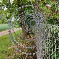 Nato-Draht um LPT-Gelände in Mienenbüttel besorgt Tierrechtler