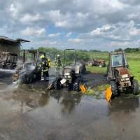 Brand auf einem landwirtschaftlichen Betrieb in Drochtersen
