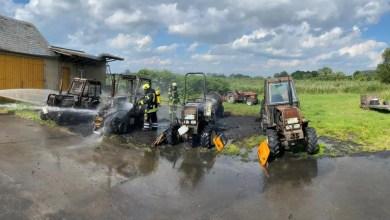 Photo of Brand auf einem landwirtschaftlichen Betrieb in Drochtersen