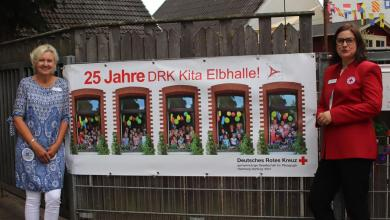 Photo of DRK-Kita Elbhalle in Finkenwerder hat die 25 voll