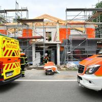 Tödlicher Unfall bei Dacharbeiten in Neuland