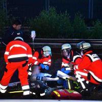 Schwer verletzt nach Abkürzung über die Gleise