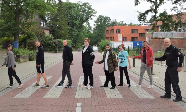 Bild von Verkehrswacht verabschiedete Schülerlotsen