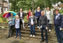 Bild von Pride Week Hamburg: Asklepios Klinikum Harburg zeigt Flagge