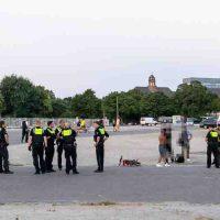 Polizei geht gegen Drogen-Szene vor