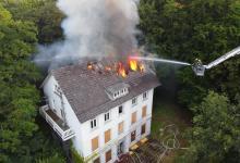 Photo of Feuer im ehemaligen Ortsamt Süderelbe