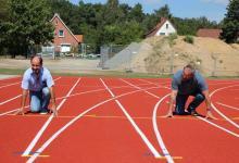"""Bild von """"Auf die Plätze, fertig, los"""" Sportplatz Salzhausen eingeweiht"""