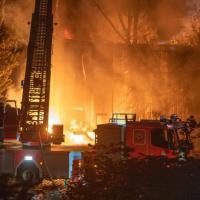 Warn-Apps warnen vor Großbrand in Wilhelmsburg