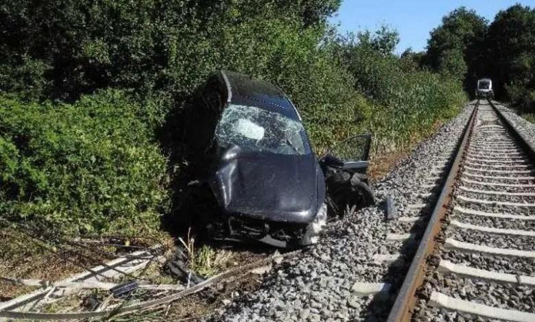 Bild von 20-jährige bei Unfall am Bahnübergang schwer verletzt
