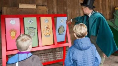 """Bild von """"Kindheit wie früher"""" beim offenen Herbstferienprogramm am Kiekeberg"""
