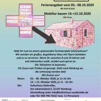 """Noch Plätze frei im Ferienprojekt """"Vielfaltshaus"""" im Kulturhaus Süderelbe"""