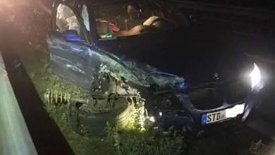 Bild von Unfall auf der A 26 – Polizei sucht Verursacher und Zeugen