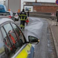 Speiseöl legt Hafenverkehr lahm - Spezialfirma muss Köhlbrandbrücke reinigen