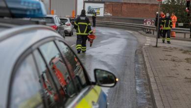 Bild von Speiseöl legt Hafenverkehr lahm – Spezialfirma muss Köhlbrandbrücke reinigen