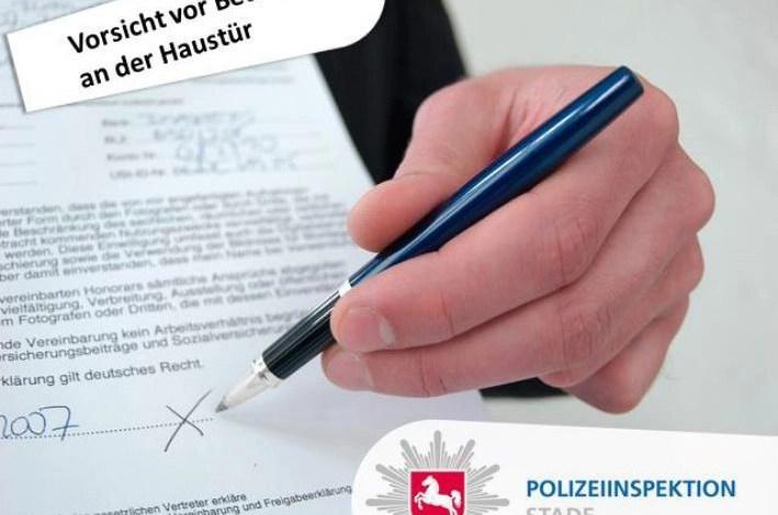 Bild von Polizei und Elbeklinikum warnen vor Betrügern an der Haustür