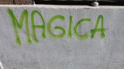 Schriftzug in Sevilla (JGE)