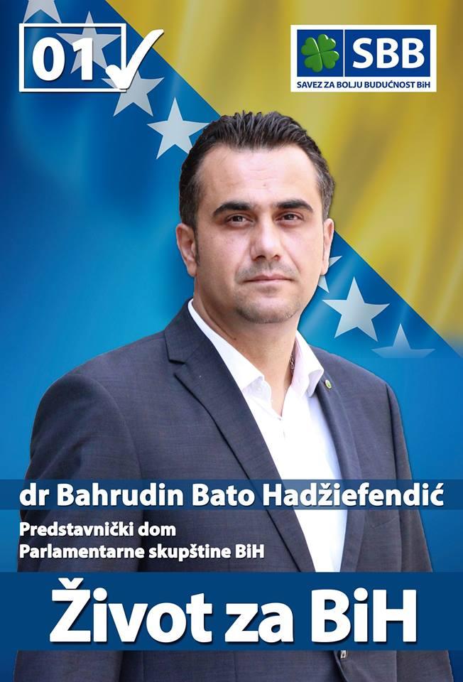 dr Bahrudin Bato Hadžiefendić