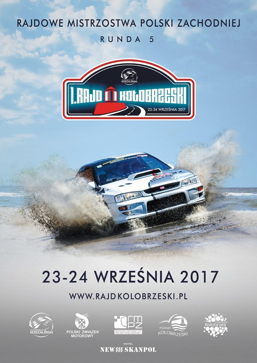 Rajdowe Mistrzostwa Polski Zachodniej - Kołobrzeg 23-24.09