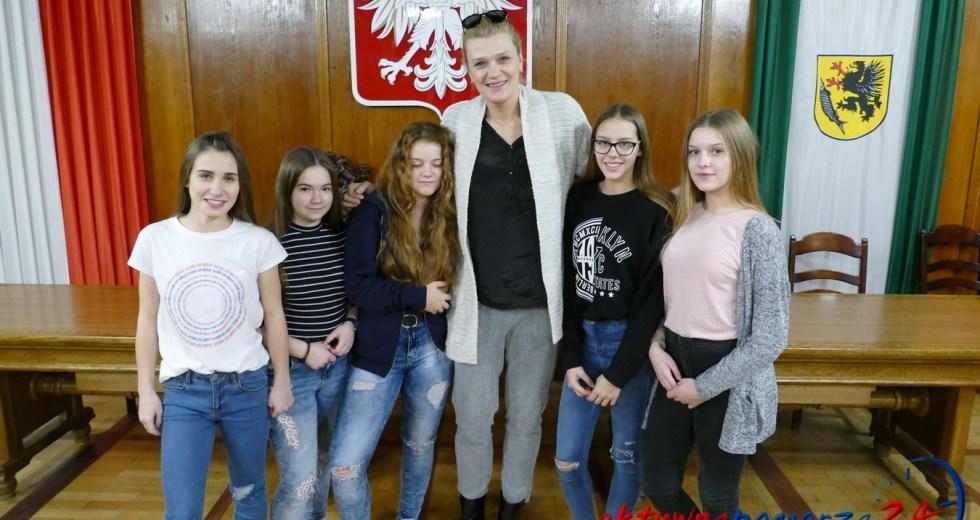 Małgorzata Glinka z wizytą na Pomorzu
