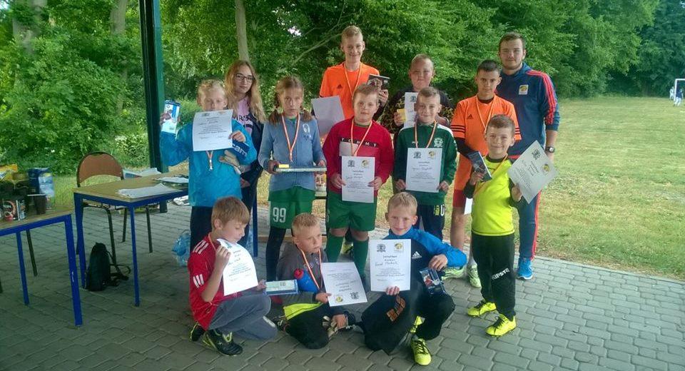 Bramkarze rywalizowali w Goalkeeper Challenge w Barwicach