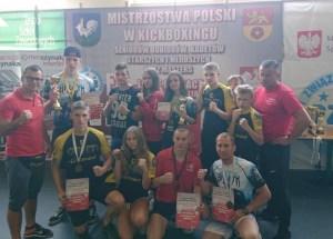 Medale fighterów z KSW Szczecinek