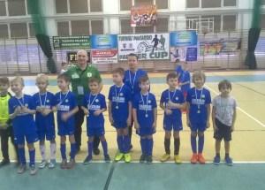 Młodzi piłkarze rozpoczęli cykl Halowych Turniejów Piłkarskich Partner Cup 2018