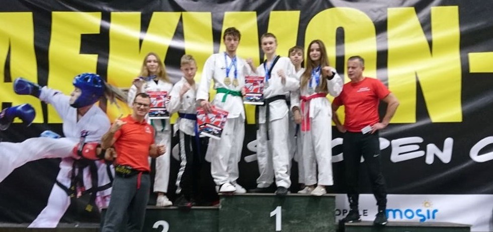 Medale szczecineckich fighterów na Międzynarodowym Pucharze Polski w Taekwondo