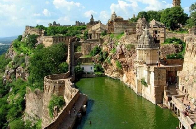 Benteng-Chittorgarh-Hindistan