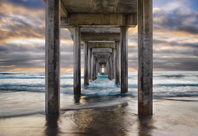 Scripps Limanı, La Jolla, Kaliforniya, ABD   Fotoğraf: Peter Lik