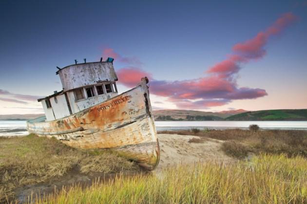 Balıkçı Gemisi, Point Reyes National Seashore, Kaliforniya, ABD | Fotoğraf: Tim Aiken