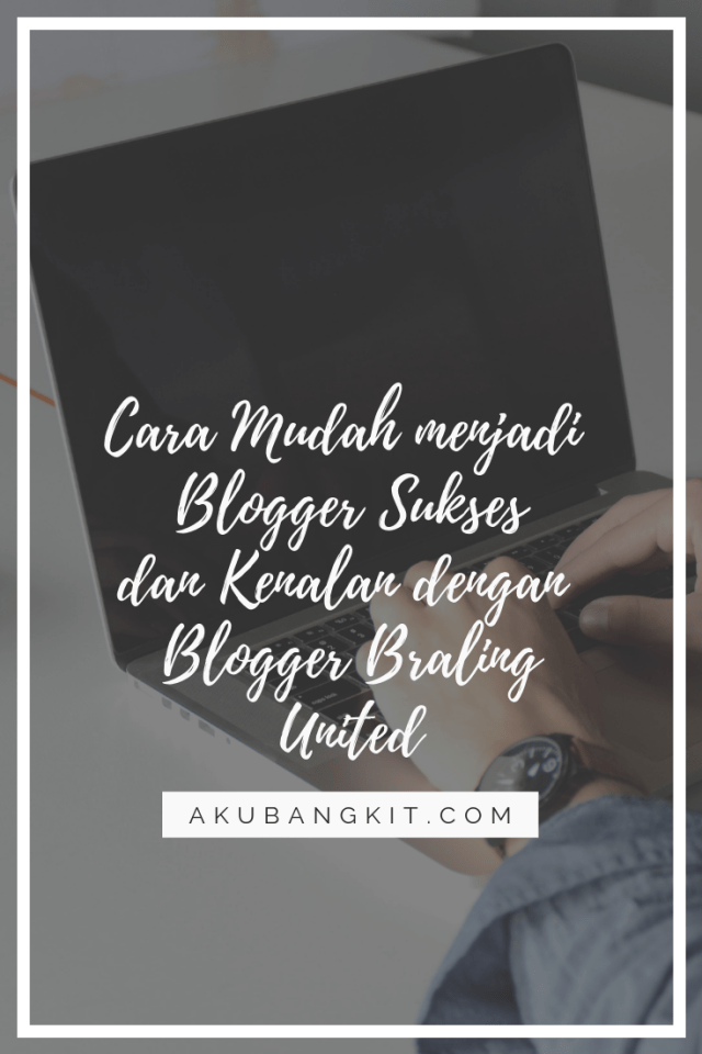 cara mudah sukses blog