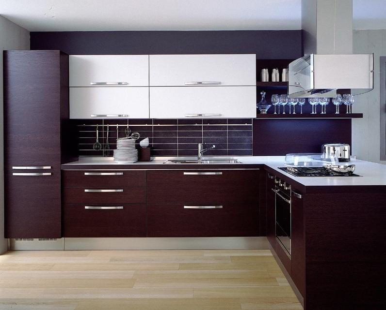 кухни двухцветные фото дизайн 1