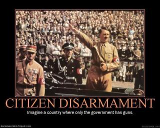 Imagine a country where only the government has guns