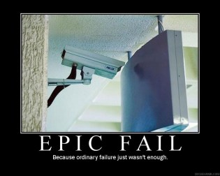 Because ordinary failure just wasn't enough.