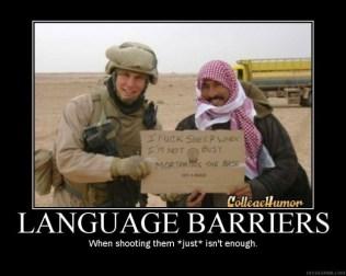Language Barriers (Motivator)