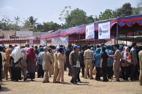 pengunjung pasar peduli ramadhan