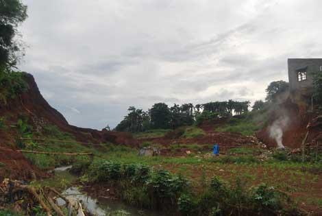 Kawasan Situ Gintung kini