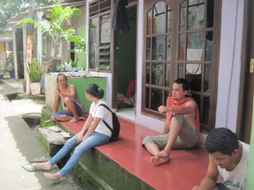 (Dari kiri ke kanan) Bang Posil, Ageung, Bang Hadi dan Bang Dimas