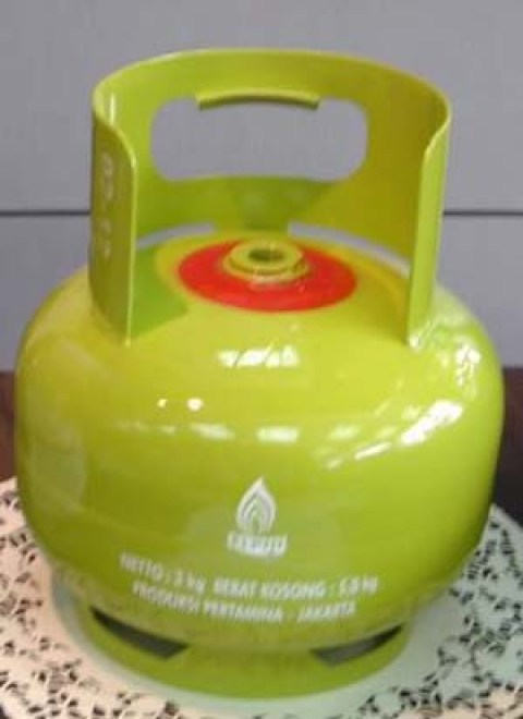 Tabung gas elpiji 3 kilogram