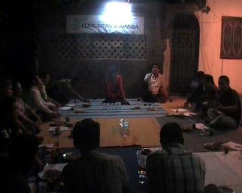 Diskusi publik seputar perpolitikan di tangerang Selatan yang diadakan oleh Komunitas Djuanda
