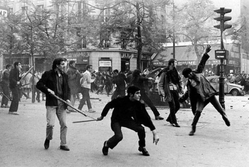 Mei Merah 1968 di Paris