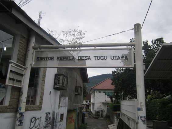 Kantor Kepala Desa Tugu Utara.