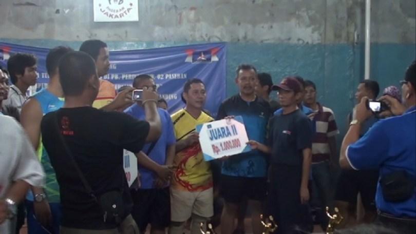 Pak Dali cs meraih Juara 2.