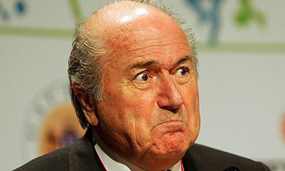Sepp Blatter, Presiden FIFA (Gambar diakses dari Lefty Shivambu/Getty Images, http://www.theguardian.com/football/2008/jul/11/ronaldo.manchesterunited).