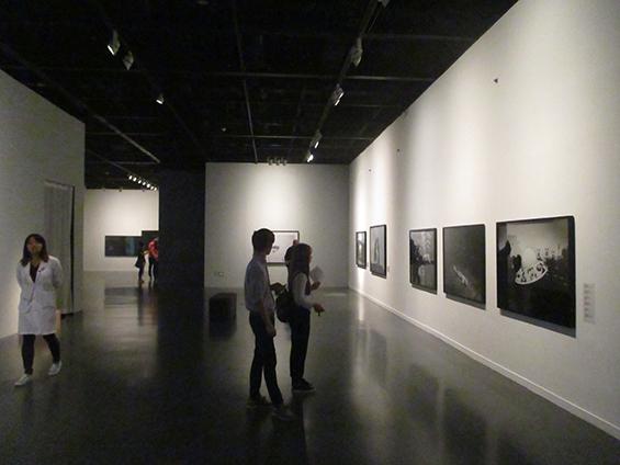 Suasana pameran di SeMA Biennale MEDIACITY SEOUL 2014.