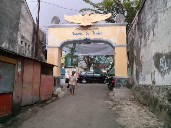 The Gate of Market and Kebon Kelapa.